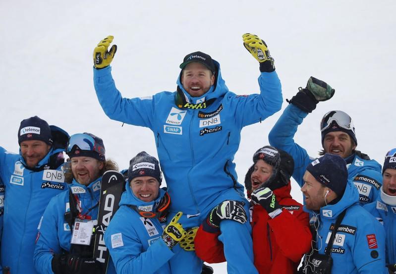 Alpine skiing: Jansrud now the daddy of the Norwegian Vikings https://reut.rs/2SnfodJ