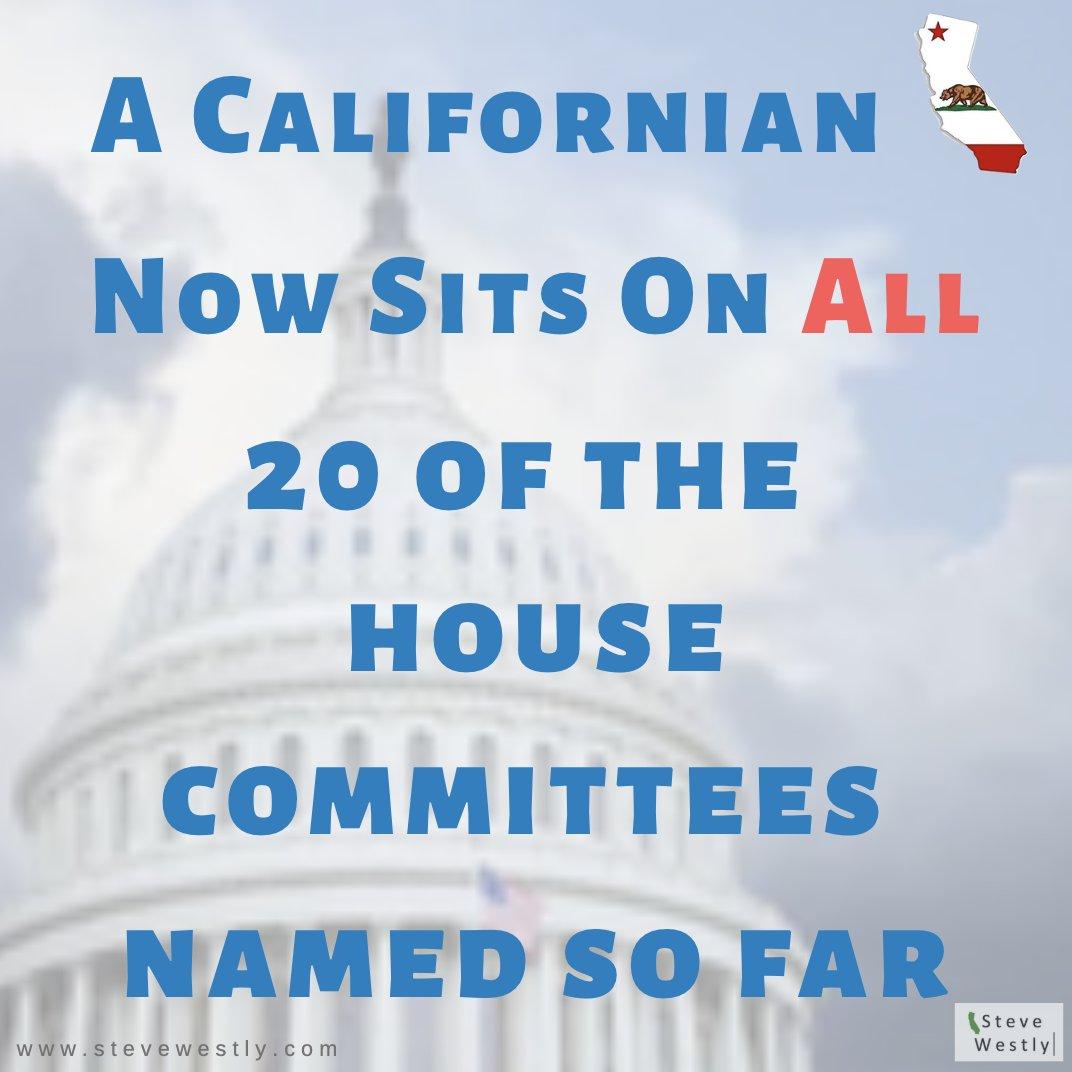 Thanks to @SpeakerPelosi Californians dominate the House like never before!  https://www.latimes.com/politics/la-na-pol-california-delegation-power-20190130-story.html#nws=mcnewsletter…