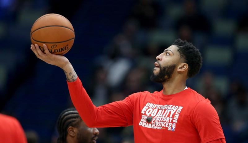 Report: NBA stepped in to make sure Pelicans play Davis https://reut.rs/2SpQhY5