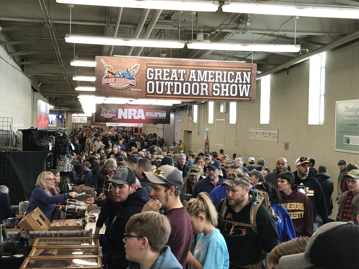Harrisburg Sportsman Show 2020.Great American Outdoor Show Nra Gaos ট ইট র