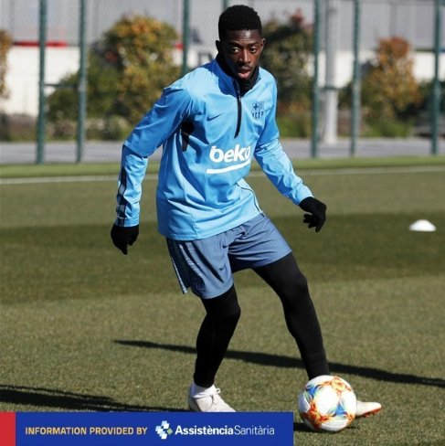 😍 @Dembouz has received medical discharge and is called up for #AthleticBarça 🔥