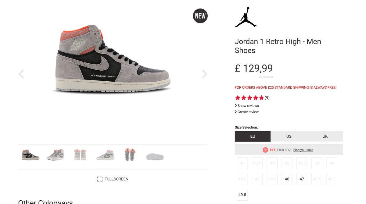 air jordan 1 neutral grey footlocker