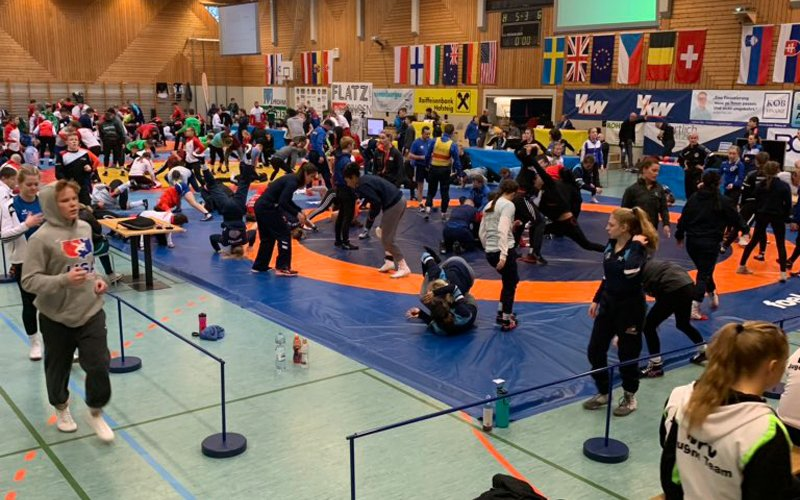 Seven U.S. athletes win golds among 15 total American medals at Flatz Open in Austria  📝: https://go.teamusa.org/2MZ5ido
