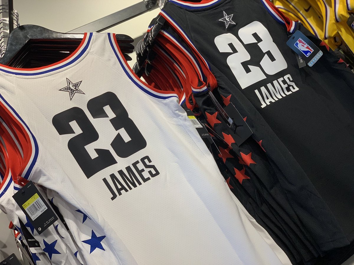 f9dc79b4e Stop by today and pick up your LeBron James swingman today! Available in  both white and gold in limited quantities!pic.twitter.com W4ZWeTe0xQ