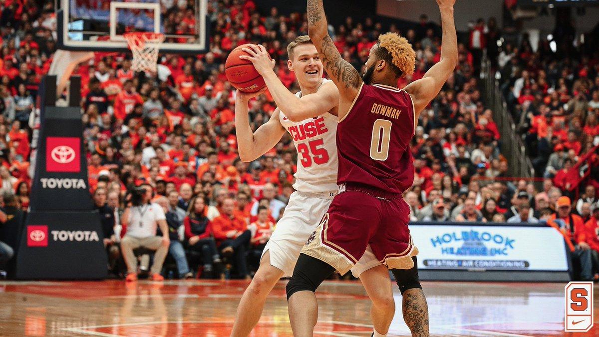 KILLER B's: Battle & Boeheim lead Syracuse past Boston College