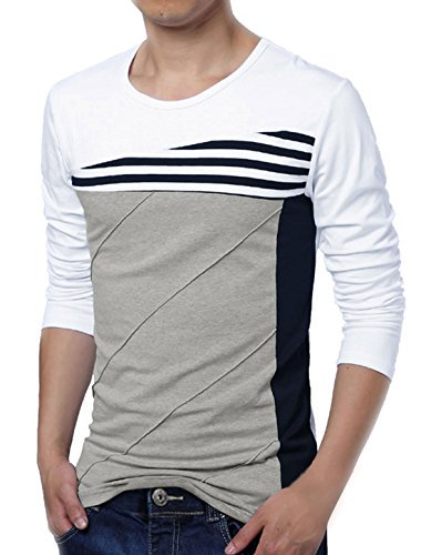 3c386b90d718a8 ... https://monkeyviral.com/uxcell-men-striped-panel-color-block-round-neck- long-sleeve-pullover-t-shirt-us-38-medium-white/ …pic.twitter.com/3xF6pIOyXw