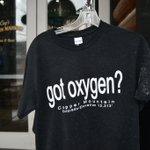 Image for the Tweet beginning: Got oxygen?  At 10,000