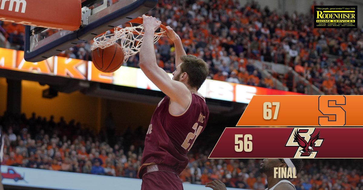 Boston College Eagles NCAA Basketball: RECAP: https://t.co/hPF5cewgxX  Ky Bowman led BC with 21 points and seven rebounds in a...