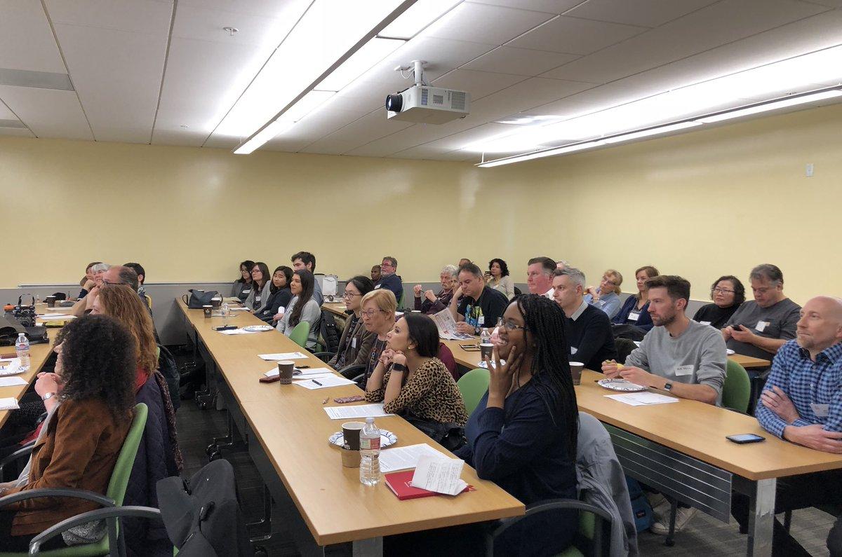 Full house! @NCTAorg February General Meeting