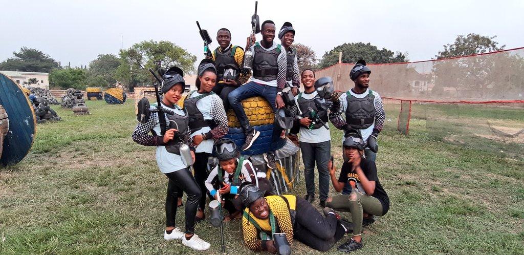 FUN day at Rapid Paintball Arena #WeAreRapid #paintball #Abuja #Fun #action #battlegames #runhideshoot #adventure #extremesport #Weekend #squad #noretreatnosurrender #adrenalin #team #AbujaTwitterCommunity