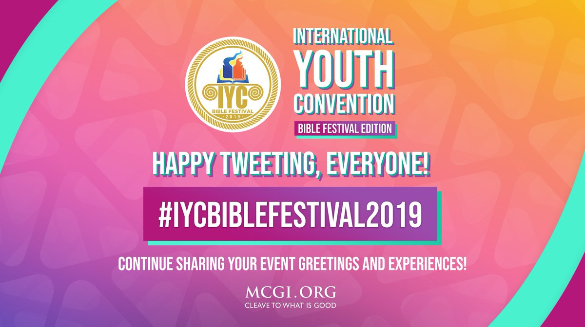 Happy tweeting, everyone! Continue sharing your event