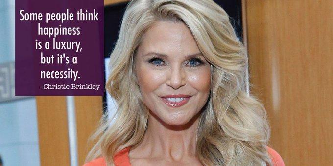 Happy birthday to the beautiful, Christie Brinkley!
