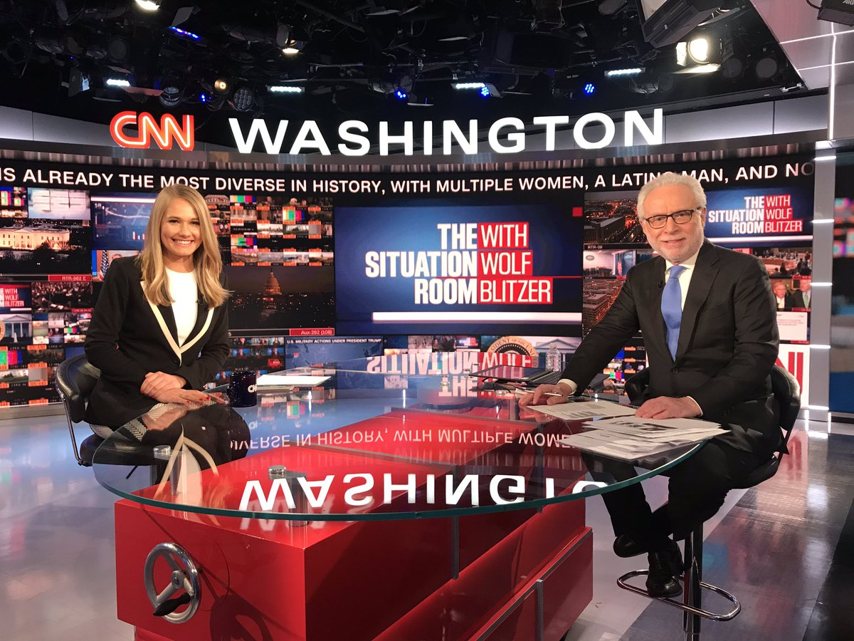 It was great to welcome our new @CNN national security reporter @kylieatwood to the @CNNSitRoom