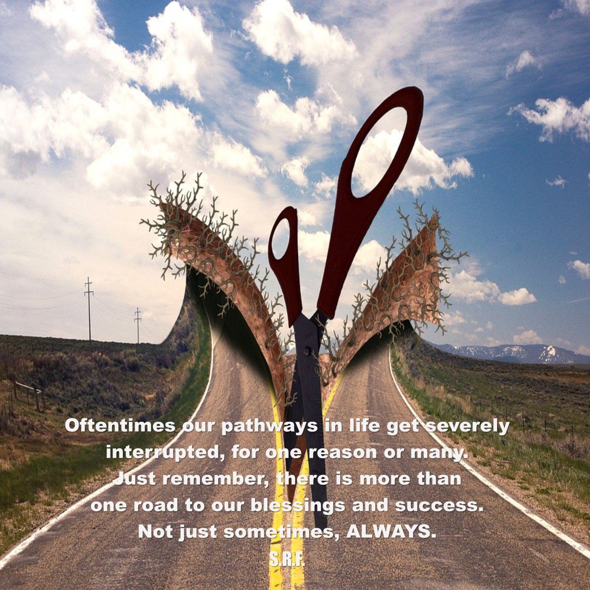 So, you thought that was the only way? ~ S.R.F. #letstalkaboutfaith https://faithishowwelive.blogspot.com/2019/02/there-is-more-than-one-way.html…