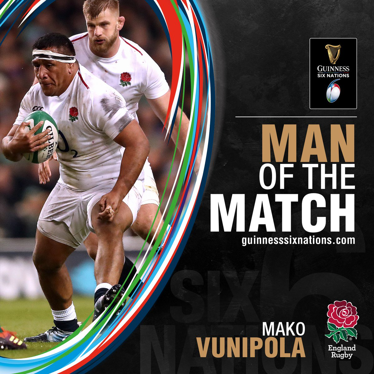 1e8fe9b59196e As part of a powerful @EnglandRugby performance, Mako Vunipola is named the  #GuinnessSixNations Man of the Match #IREvENG pic.twitter.com/GsoGUKeLws