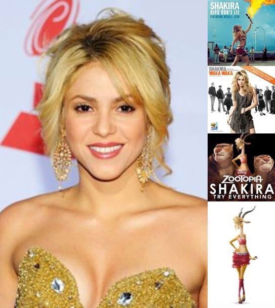 Happy birthday to Shakira!