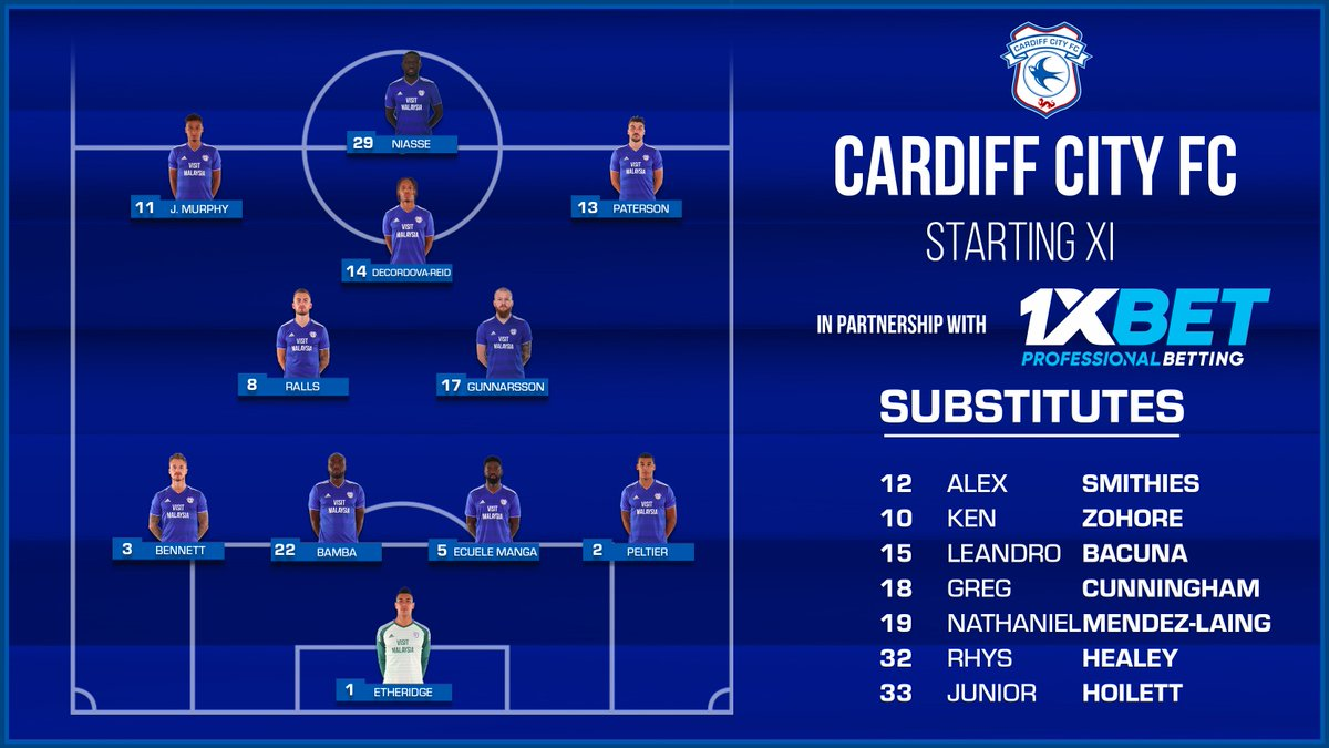 #CARBOU | #CardiffCity team news!  Brought to you by @1xbet_Eng...  #CityAsOne