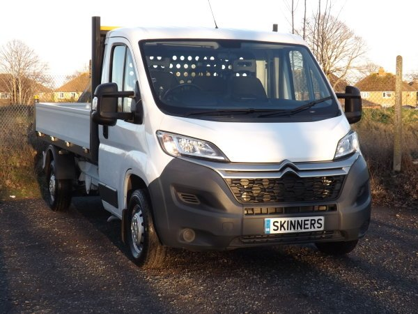 6a9dabde27f8c0 ... Pick Up. To see more visit  https   www.skinnersnet.com used-cars 9486367-citroen-relay-dropside-pick-up-euro-5-130-bhp-with-a-c   …