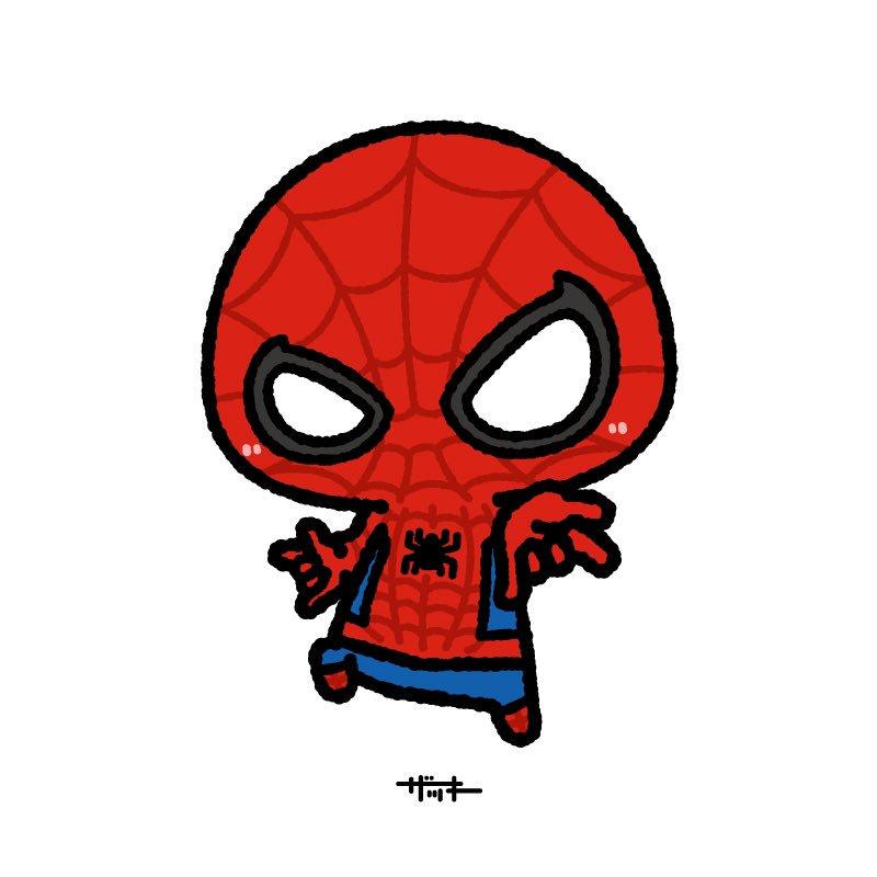 ザッキー On Twitter スパイダーマン描いてみた ザキ絵 マーベル