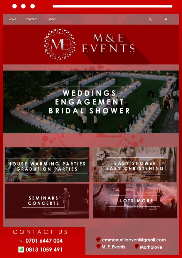 Are you planning on a engaging the love of your life in this month of love, especially on Valentine's.. Holla at us for a perfect engagement and I promise you won't regret it..  M&E Events