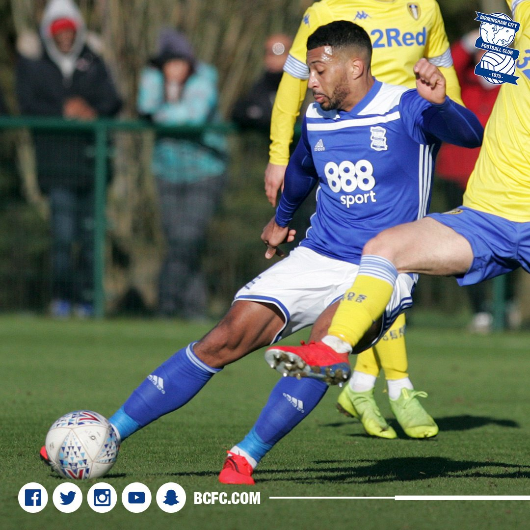 56f5279c00bf20 ... against Leeds United Under-23s at Wast Hills today The midfielder has  made a remarkable
