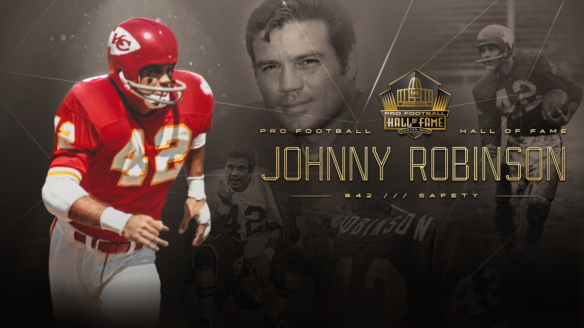 Image result for johnny robinson chiefs