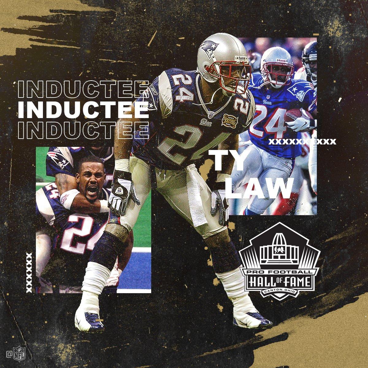 Ty Law is heading to the @ProFootballHOF! #PFHOF19 #NFLHonors