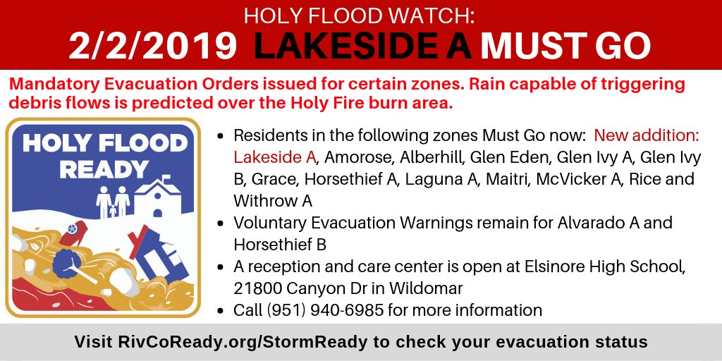 bb875682f25ffb All previous mandatory evacuation orders remain in place. Visit  http   www.RivCoReady.org StormReady for more information .pic.twitter.com W83OPRkKtv