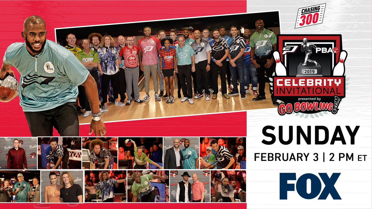 Tune in tomorrow at 2 PM to catch the @PBAtour Celebrity Invitational on FOX!