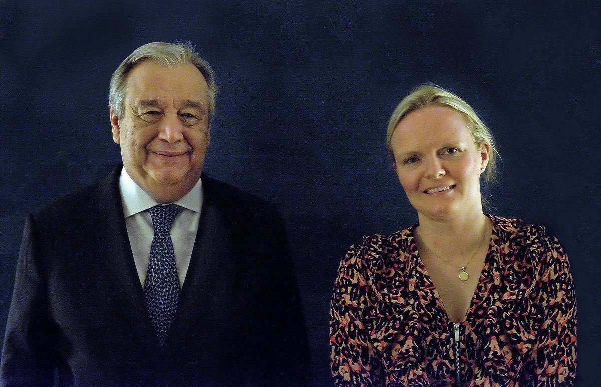 My disability, my identity!  At #WEF19 in Davos, @antonioguterres discussed disabilities & inclusion issues with Paralympic Gold medalist @Susie_Rodgers. Read her story: http://ow.ly/oJBH30nysZi @WEF #StandUp4Inclusion