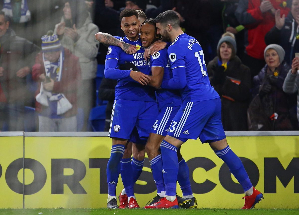 FULL-TIME Cardiff 2-0 Bournemouth  Birthday boy Bobby Reid scores twice as the Bluebirds secure a first #PL victory in five matches   #CARBOU