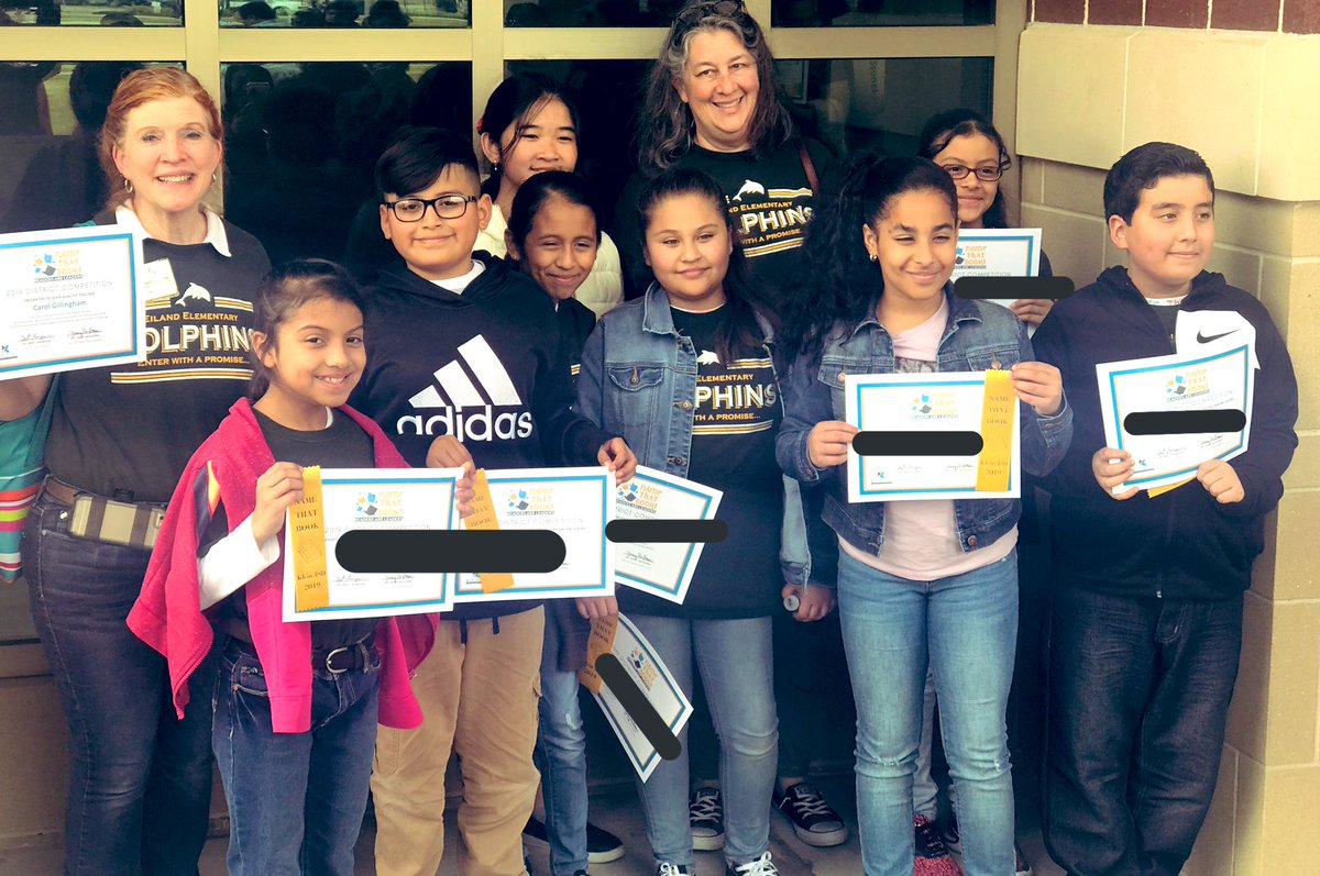 """Supremely proud of our """"Eiland Dolphin Readers""""🐬📚at today's Name That Book Competition at @KleinCain. @GillinghamCarol & @bookafterbook are amazing #p2pInvestors that strive to inspire, coach and encourage our students😃#EilandFanTheFlame #EilandFamily #MomentsinKlein"""