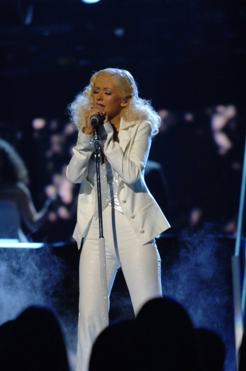 "This is a man's, man's, man's world But it wouldn't be nothing, nothing Without a woman or a girl    @xtina brought down the house with a version of ""It's A Man's Man's Man's World""  in tribute to #JamesBrown at the 49th #GRAMMYs in 2007. @LyricFind #GRAMMYVault <br>http://pic.twitter.com/ukW28ilR7Z"