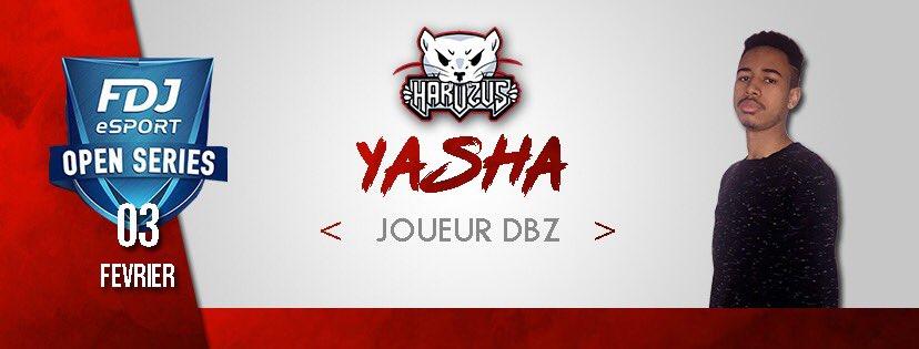 Pensez à jetez un coup d'œil sur le stream qui débutera à 17h lors de la FDJ OPEN SÉRIE ce dimanche 3 février pour soutenir notre joueurs DBFZ @Yasha94_ qui jouera sous nos couleurs ! @FDJ_eSport