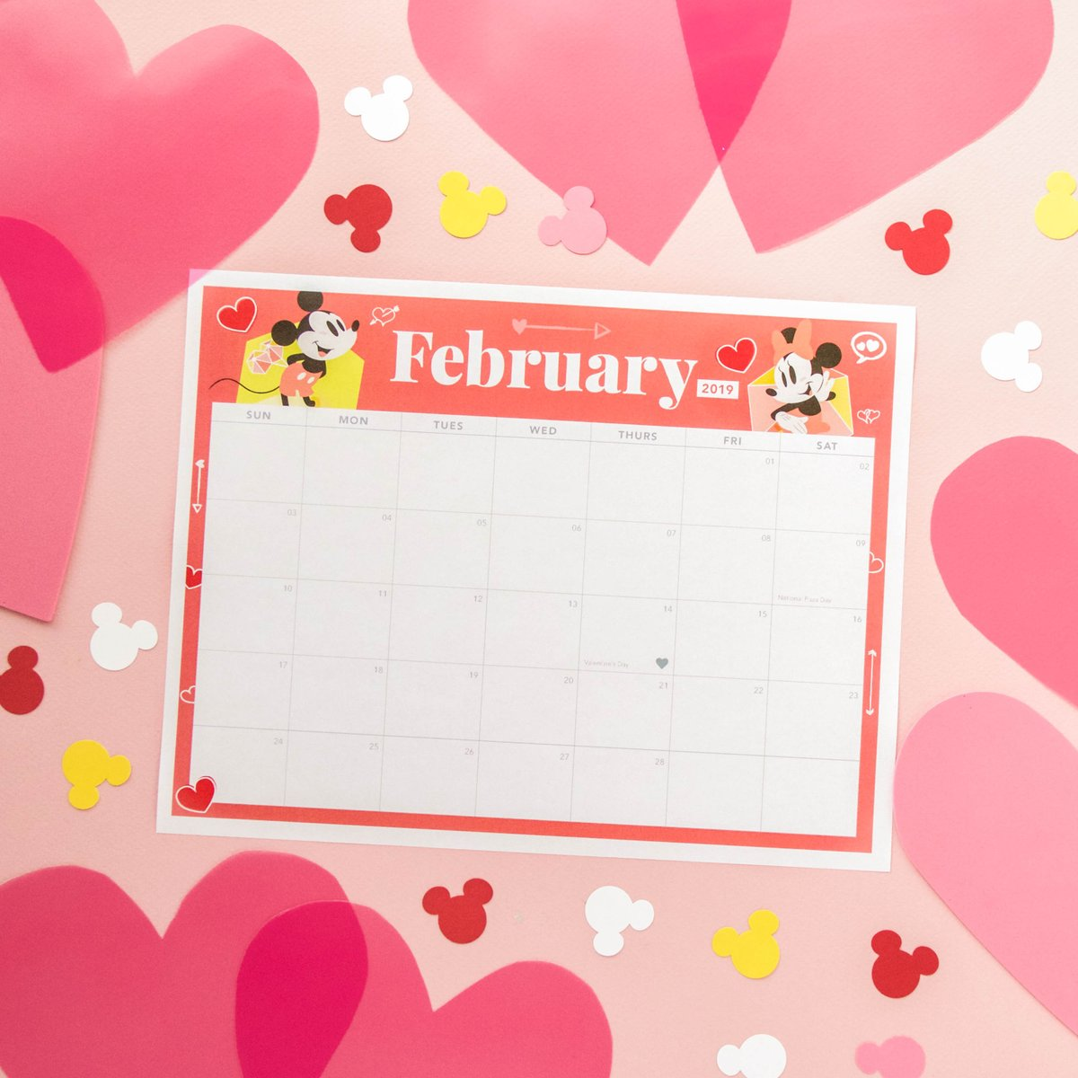 image about Disney Printable Calendar identified as Disney Spouse and children upon Twitter: \