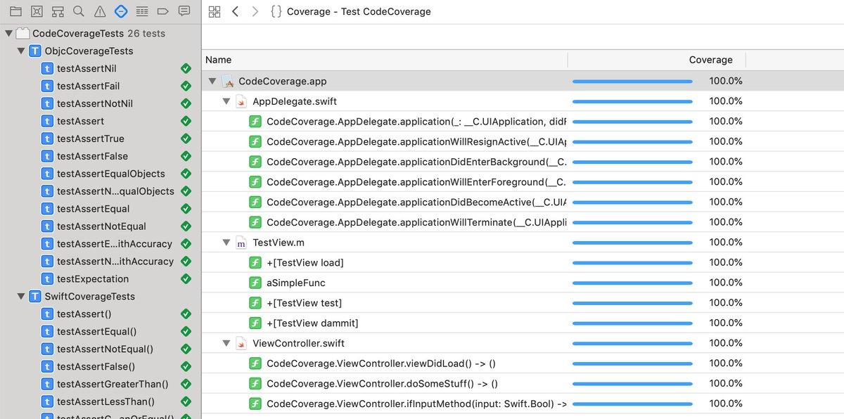 C test code coverage