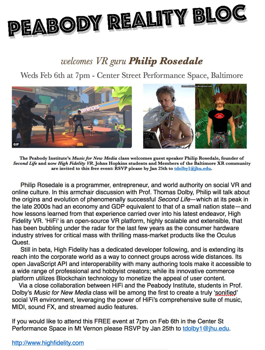 Meet VR guru Philip Rosedale, founder of Second Life and