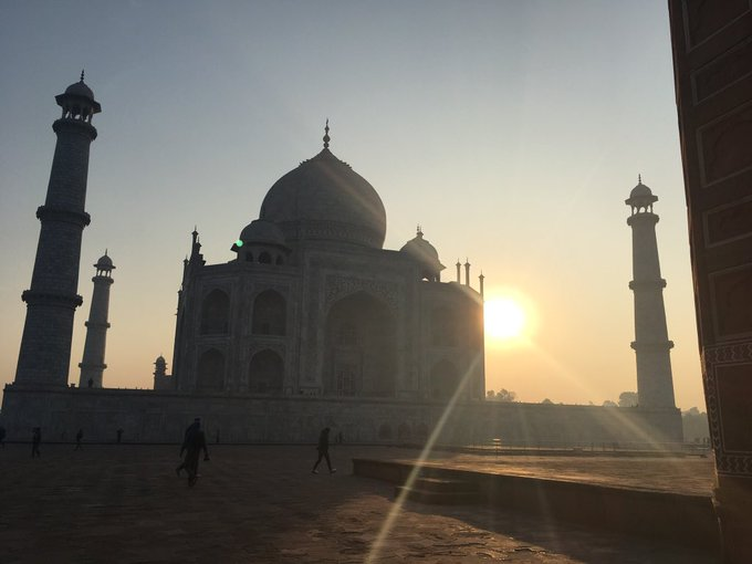 Happy Birthday - you deserve a palace like the Taj Mahal.