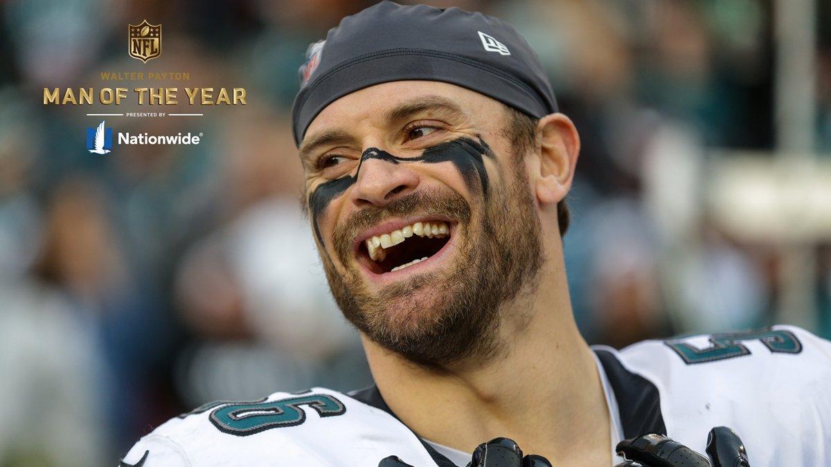 Philadelphia Eagles's photo on Walter Payton Man of the Year
