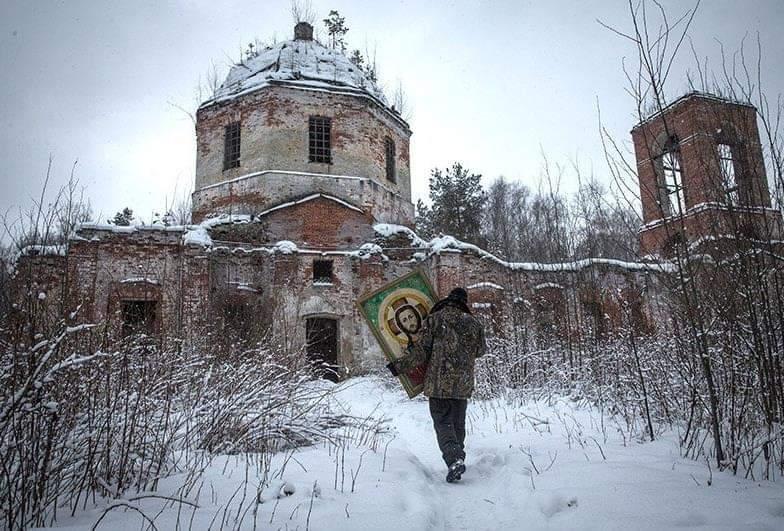 Картинки по запросу православный храм разрушенный