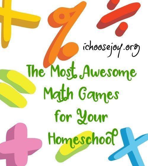 Homeschool Math: The Most Awesome Math Games for Your Homeschool #homeschoolmath #mathpractice #mathforchildren #mathforkids #ichoosejoyblog https://t.co/55FWTtp6YP https://t.co/nyFwXdhJDj