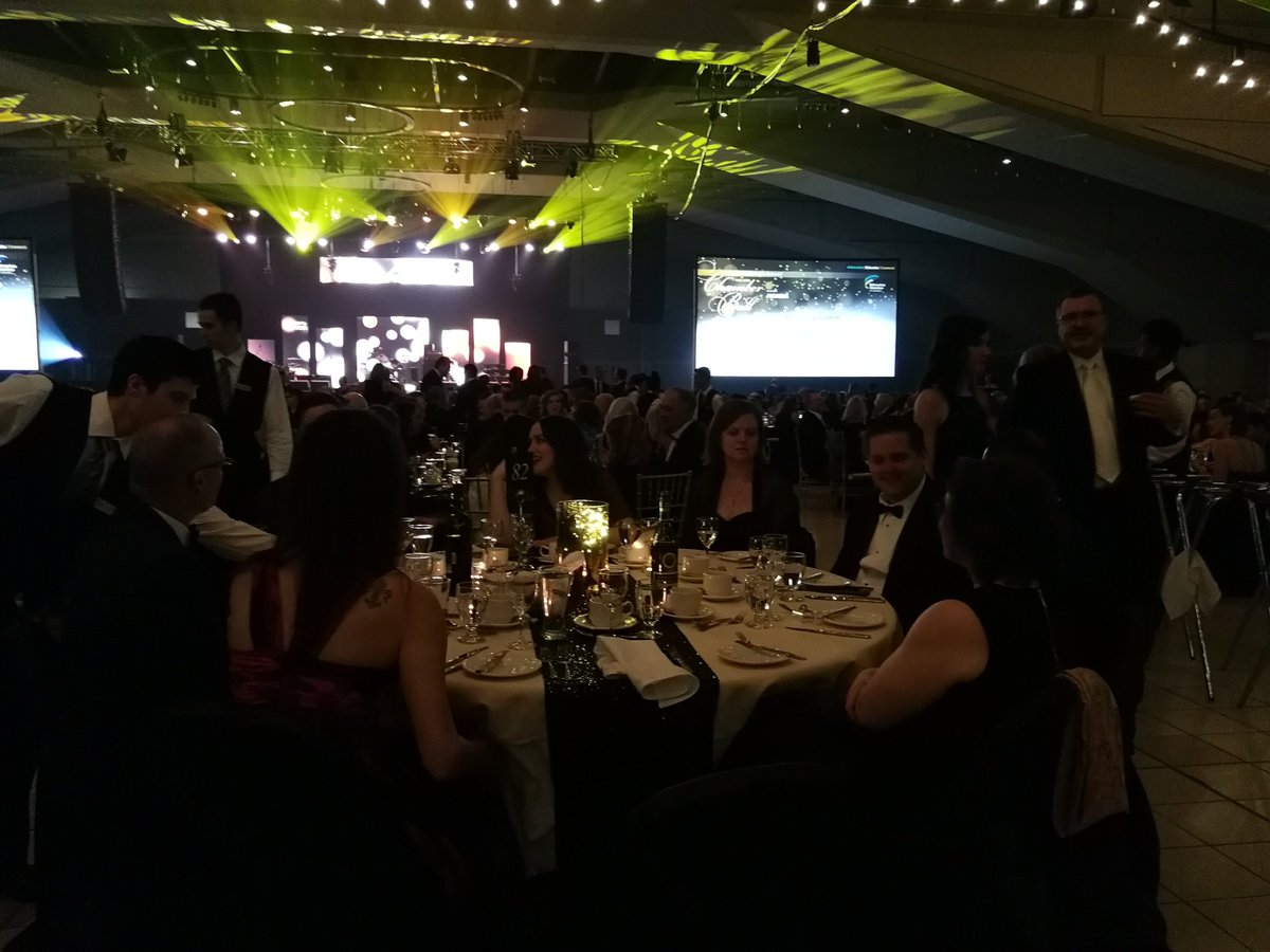 Enjoying the Edmonton Chamber Gala.  Great networking opportunity and an excellent program. @T4XMayorStewart  @T4XBeaumont