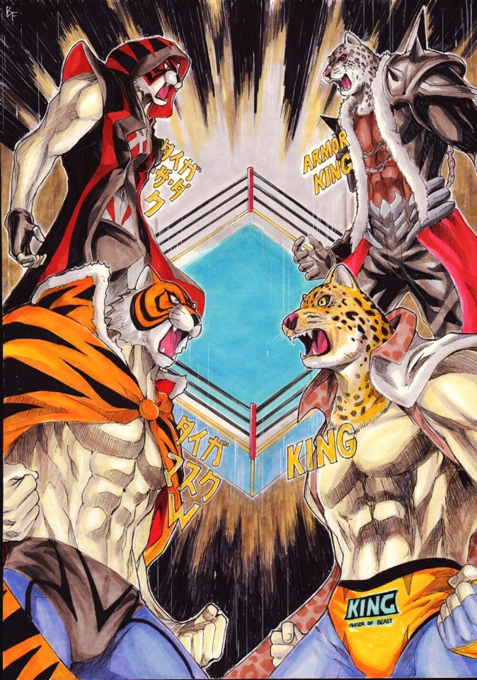 Waywardcrossstudios A Twitter Here Is A Tiger Mask W Vs Tekken