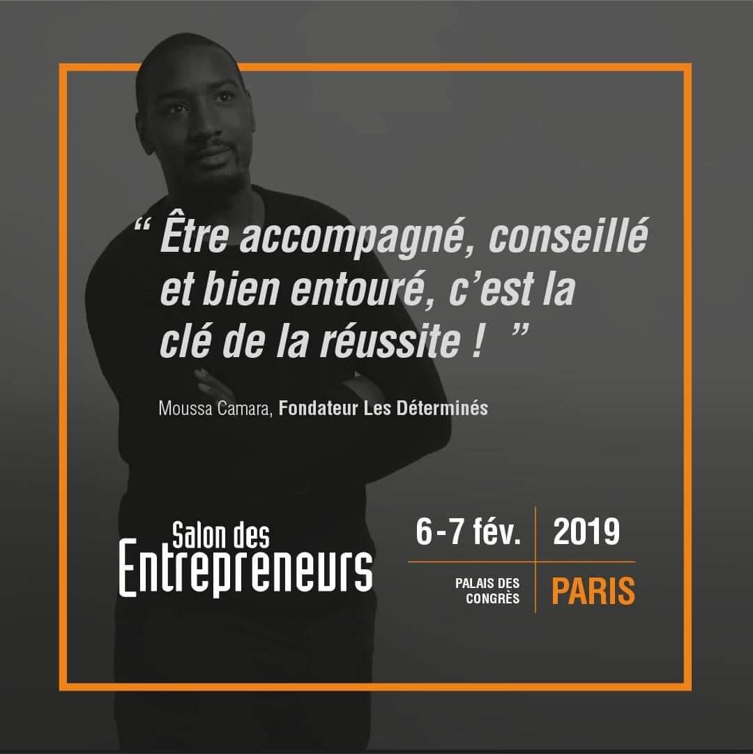 @LesDetermines stand n°266   #salondesentrepreneurs  Inscription gratuite :  http://www. salondesentrepreneurs.com      #Entrepreneur #entreprendre #lesechos #leparisien<br>http://pic.twitter.com/zMa6thZ9J2