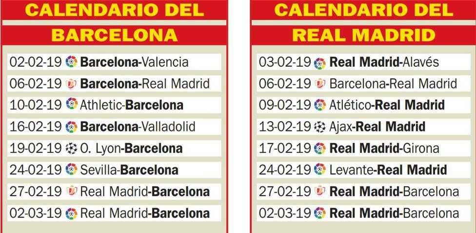 Calendario Real Madrid 2019.Pena Madridista De Bombay On Twitter As Real Madrid And Fc