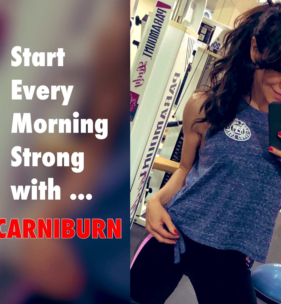 Let's GO! Cardio time with CARNIBURN @amazon 😅