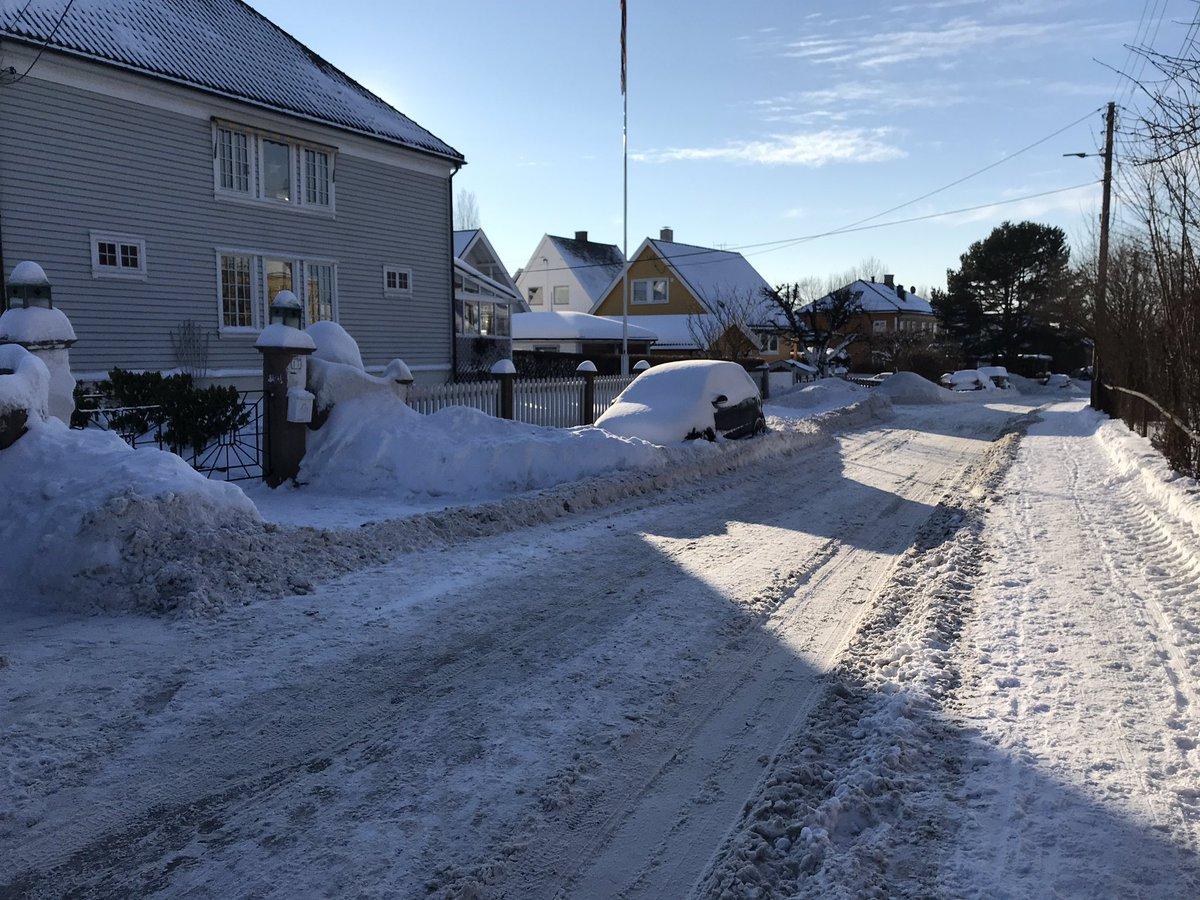 Det årlige vintermirakelet i Oslo: Når det er bar bakke står bilene gateparkert tett-i-tett. Når snøen kommer og det blir vanskelig å parkere forsvinner store deler av bilparken for å dukke opp til våren. Skjer på Løkka, skjer på Hasle, skjer overalt. Parkering er ikke statisk.