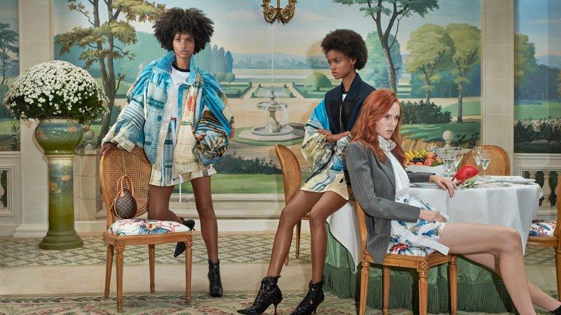 #LouisVuitton Brings Back the 80's for Spring 2019 Campaign @LouisVuitton https://t.co/ztNfXklAcq