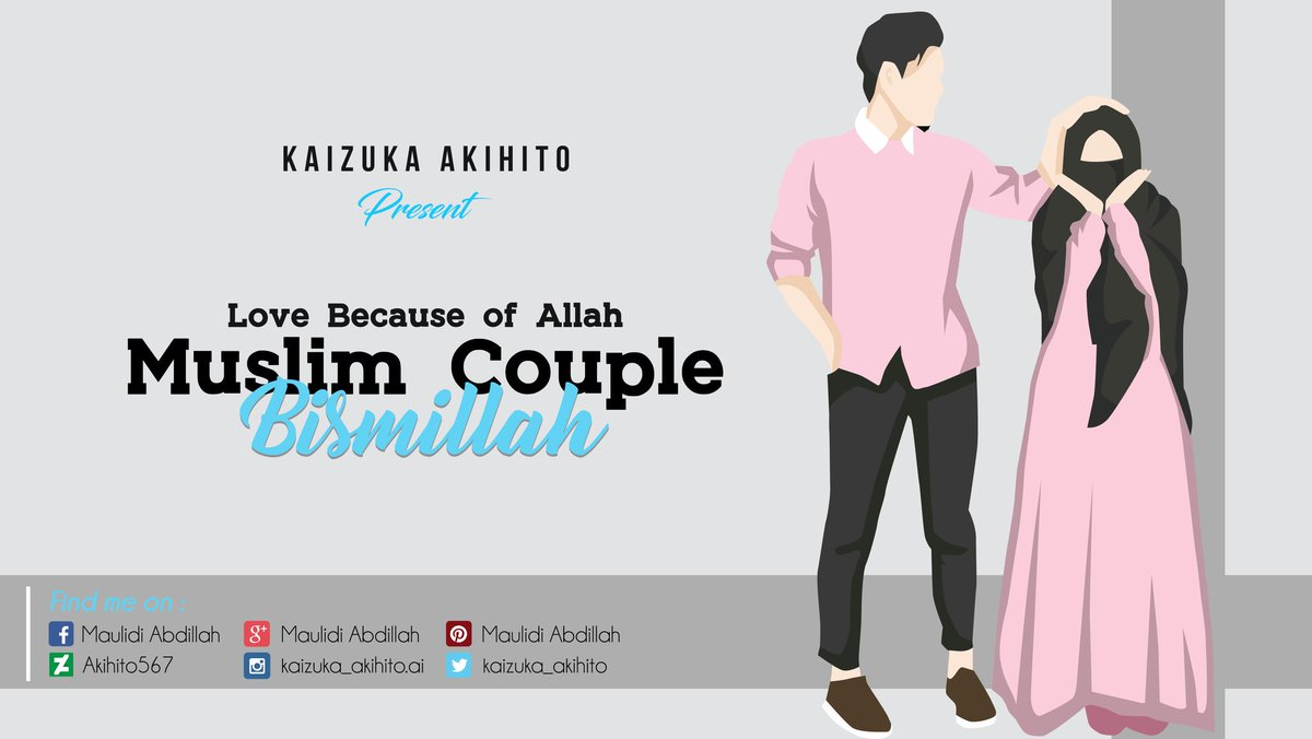 Follow for more minimalist wallpaper ❖ ☛ anime ☆ char muslim couple