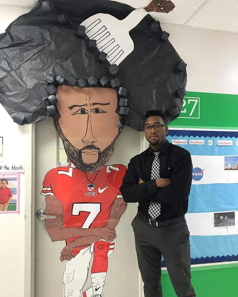 These educators decorated their classroom doors for #BlackHistoryMonth  🙌🏽 🙌🏾 🙌🏿  LOVE THIS ✊🏽✊🏾✊🏿  Retweet ❤